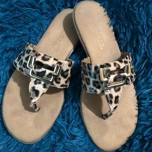 Cheetah sandels